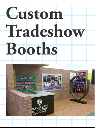 Custom Made Trade Show Booths